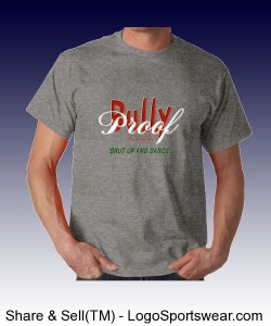 Bully Proof Productions Gildan 100% Cotton Adult T-shirt In Tall Sizes Design Zoom