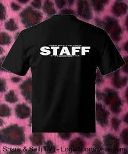 Your Rod And Your STAFF - Hanes Tagless T-Shirt Design Zoom