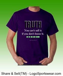 Sublimi-Nice TRUTH T - Gildan Adult T-shirt Design Zoom