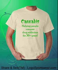 Cannabis Designs - Gildan Adult T-shirt Design Zoom
